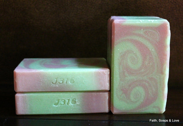 Summer - Artisan Small Batch Soap - Goat Milk Soap - Ylang Ylang and Lavender