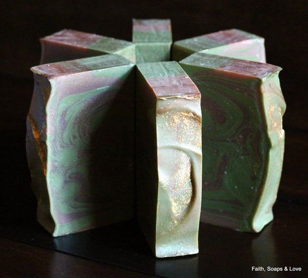 The Gifts Handcrafted Christmas Soap - Frankincense & Myrrh