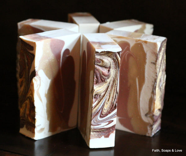 Three Wise Men Handcrafted Soap - Gifts of the Magi - Frankincense & Myrrh
