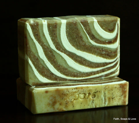 Twilight Woods (For Men) Handmade Soap -  Citrus, Cedar, Spice, Vetiver, Musk, Patchouli