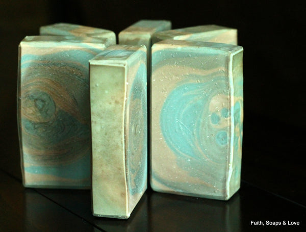Under My Spell - Amber, Sandalwood, Vanilla & Cedarwood Scented Soap