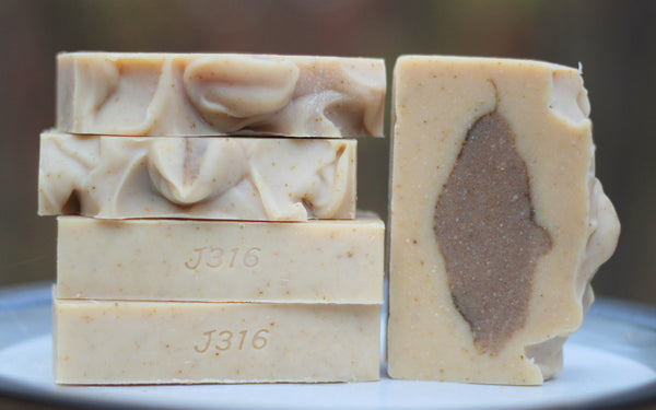 Wake Me Up - Goat Milk Soap - Essential Oils - Made in Hastings, MN - All Natural