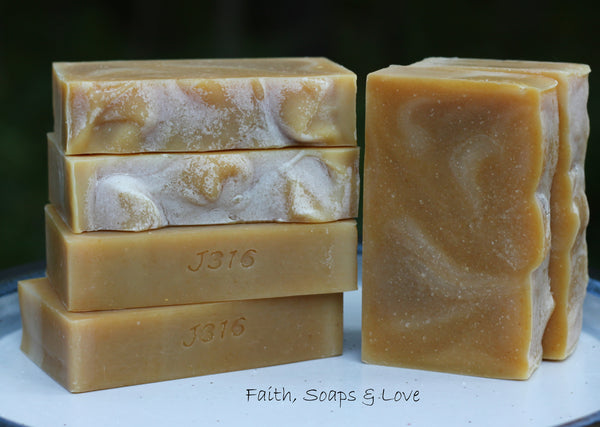 Peppermint Rosemary Essential Oil Soap - Goat Milk - All Natural