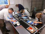 Pinstriping Basics Workshop with Richie, Årnes, Norway 13-14 October 2018
