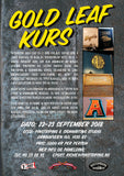 Automotive Gold Leaf Workshop with Richie, Norway 22-23 September 2018