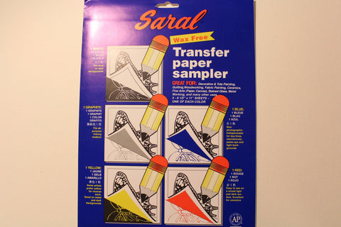 Saral Transfer (Tracing) Paper Sampler