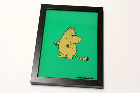 Moomin - 23 Carat Gold Leaf Glass Art
