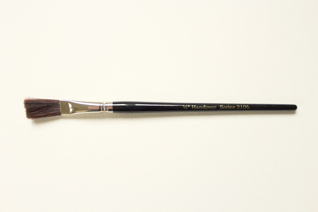 Series 2106 Brown Ox Hair One Stroke Brush