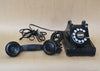 Black Bakelite WESTERN ELECTRIC PYRAMID Rotary Telephone