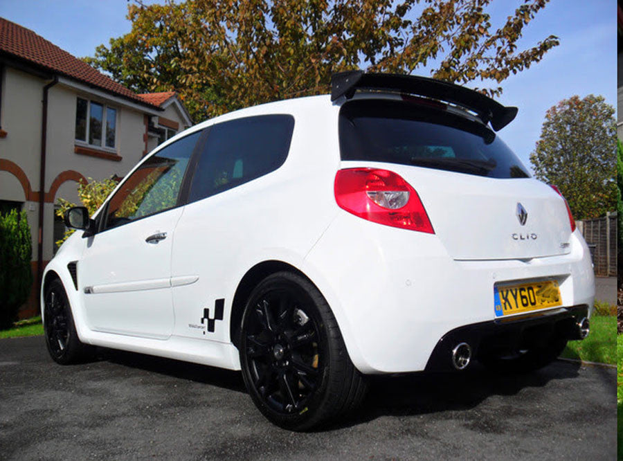 Clio III Cup Spoiler - Supplied & Painted