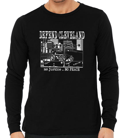 Defend Cleveland L/S Tee