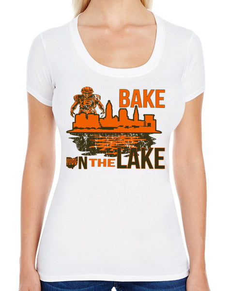 Bake on the Lake Swoop Neck Tee