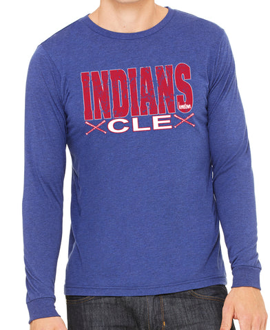 CLE Indians L/S Tee