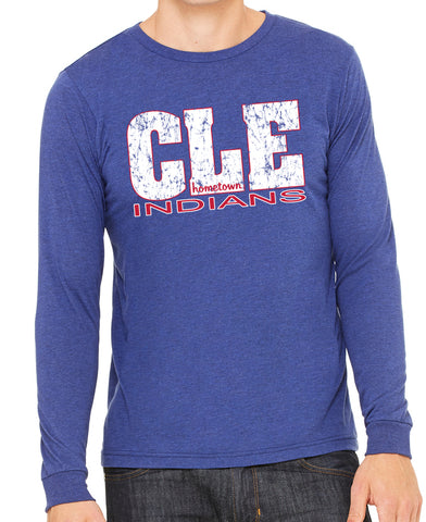 CLE Indians 2.0 L/S Tee