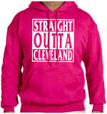 Straight Outta Hoodie (White Ink)