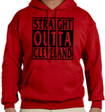 Straight Outta Hoodie (Black Ink)