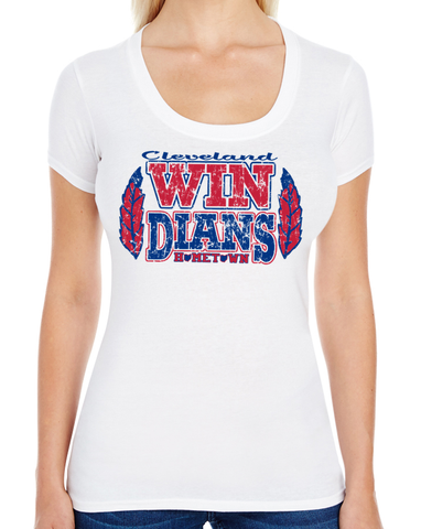 Windians Swoop Neck Tee