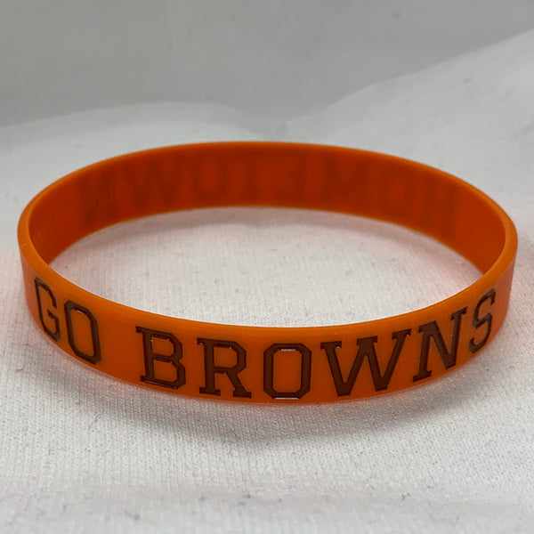 Hometown Browns Wristband