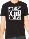 Straight Outta Tee (White Ink)