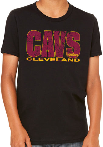 Cavs Cleveland 2.0 Kids Tee