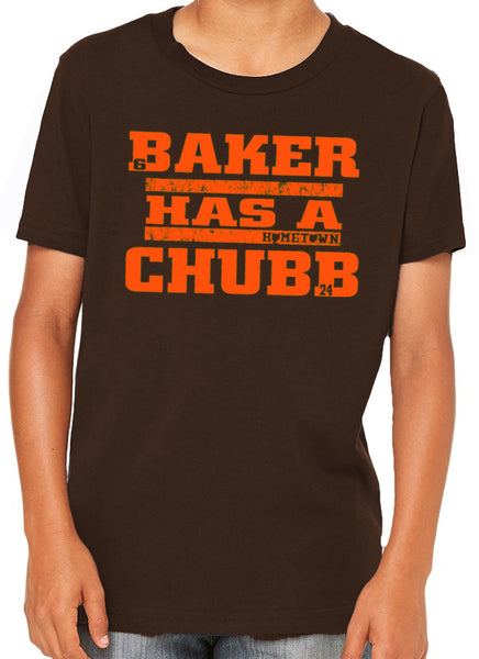 Baker Has a Chubb Kids Tee
