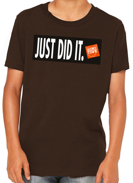 Just Did It - Just Do It Kids Tee