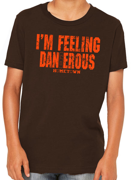 I'm Feeling Dangerous Kids Tee