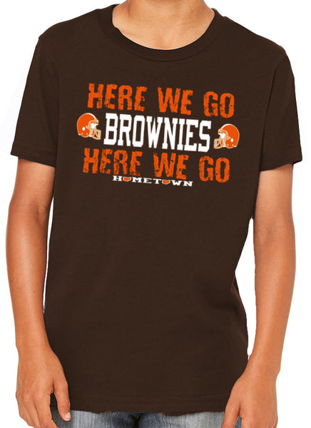 Here We Go Brownies Kids Tee