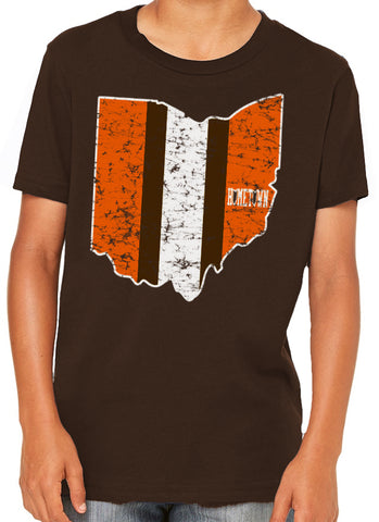 Browns State Kids Tee