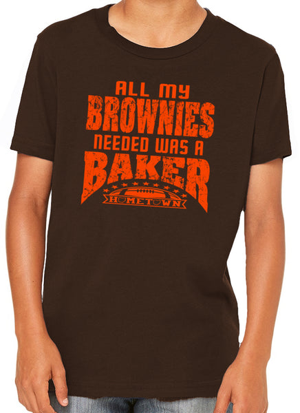 Brownies Needed a Baker Kids Tee