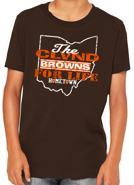 Browns For Life Kids Tee