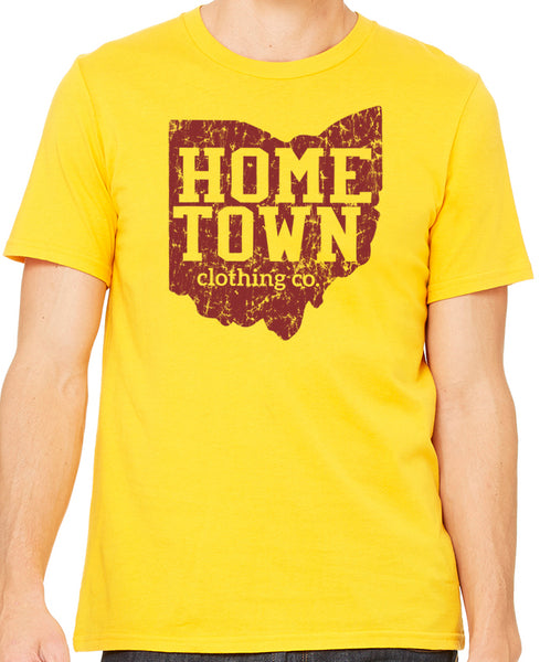 Hometown Logo Tee (Wine)