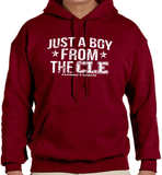 Just a Boy From CLE Hoodie
