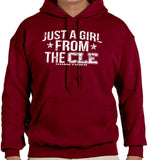 Just a Girl From CLE Hoodie