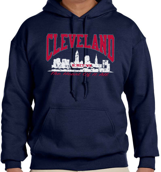 Cleveland Heart of it All Hoodie