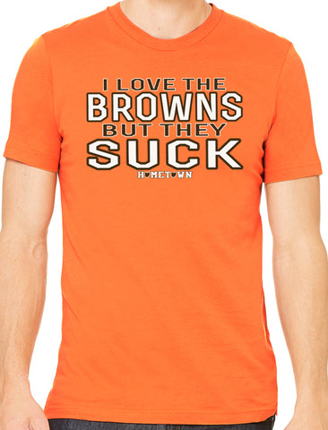 Limited Edition Browns Suck Tee