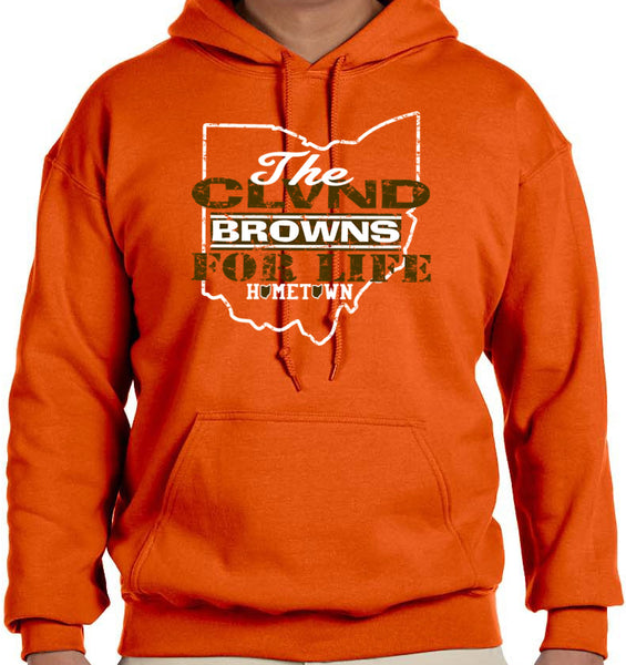 Browns For Life Hoodie