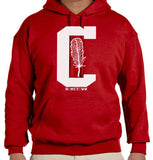 Big C Feather Hoodie