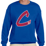 Old School C Sweatshirt (Red/White)