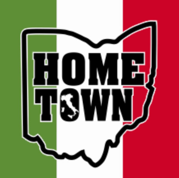 Hometown Italy Sticker