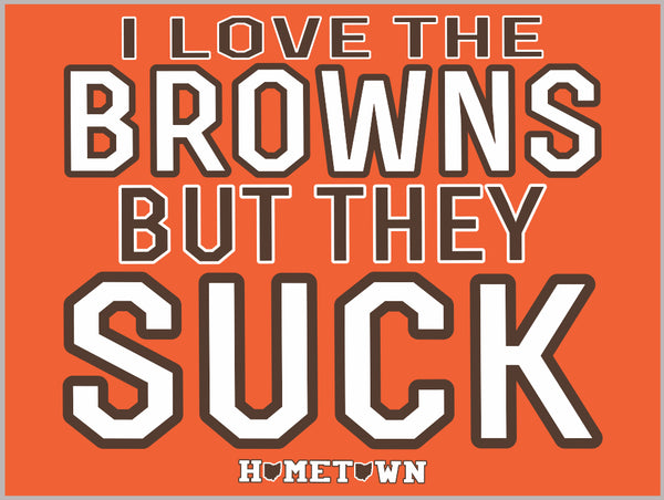 Browns Suck Sticker