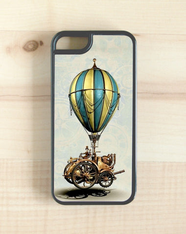 steampunk, airship design phone case, iphone, galaxy, note