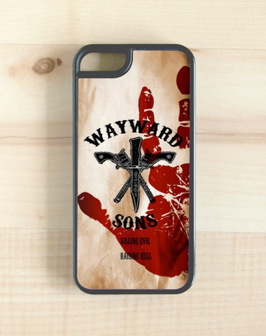 Supernatural, wayward sons phone case, iphone, galaxy, note