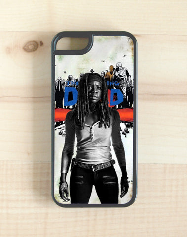TWD, the walking dead, michonne season 7 phone case, iphone, galaxy, note