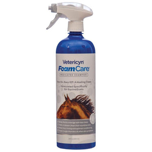 Foam Care Medicated Shampoo - EZhorse.com
