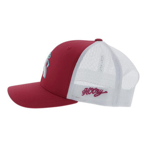 Hooey Dark Pink Golf Hat