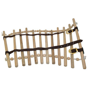 Wooden Neck Cradle Dowels & Beads-EZhorse.com