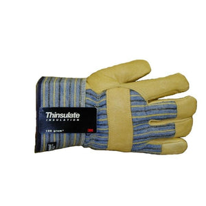 Tuff Mate Grain Pigskin Thinsulate Lined Gloves
