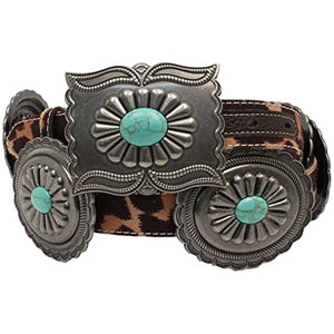 Ariat Women's Leopard Print Western Belt