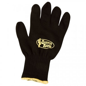 Cactus Black Cotton Roping Gloves - EZhorse.com